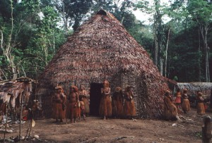 Yagua_indian_hut
