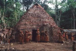 Yagua_indian_hut